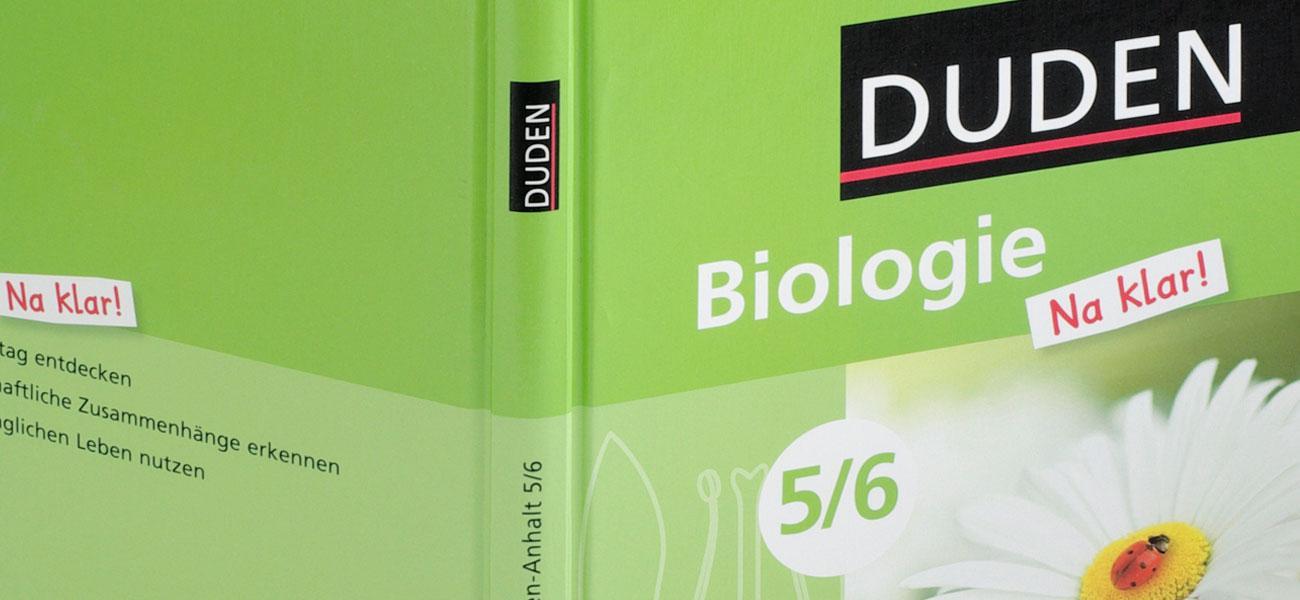 na klar! naturwissenschaftliche Schulbuchreihe Cover am Beispiel Biologie
