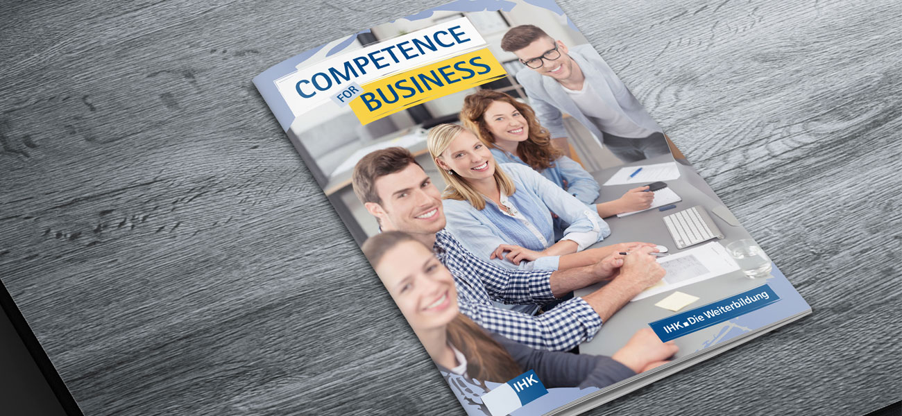 Imagebroschüre Competence for Business