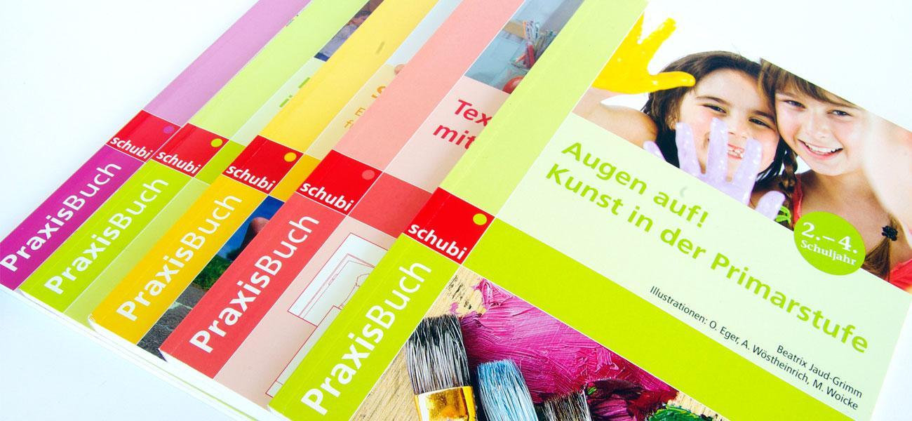 Praxisbuch – Corporate Design für Lehrwerksreihe