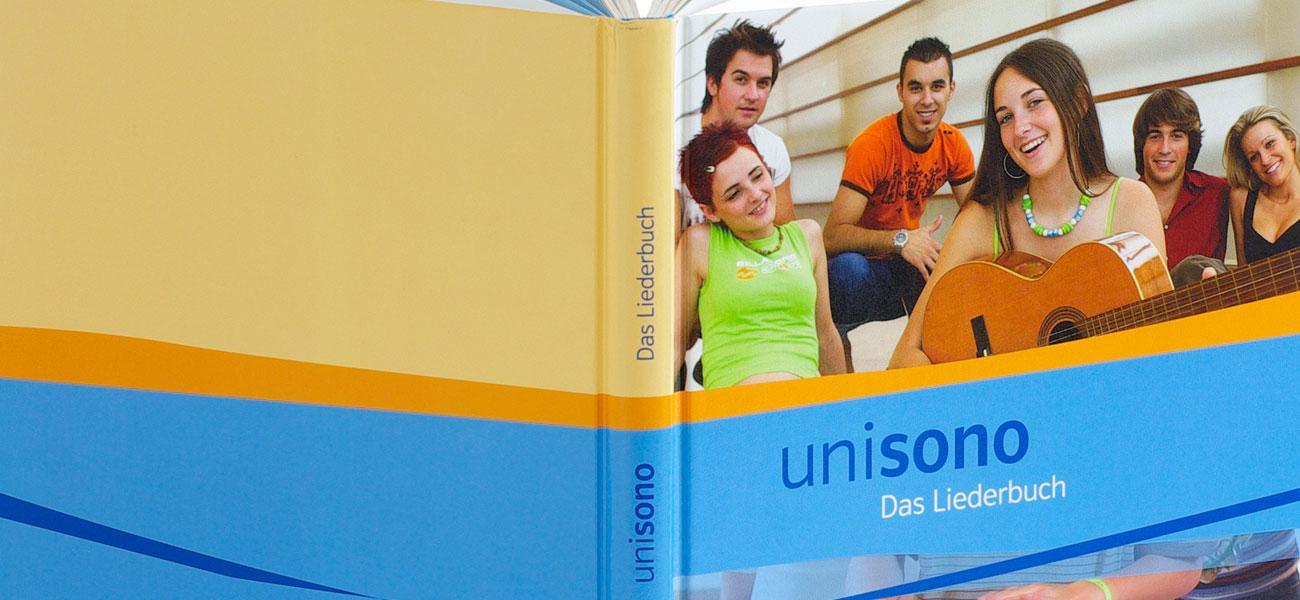 unisono – Das Liederbuch Gesamtkonzeption