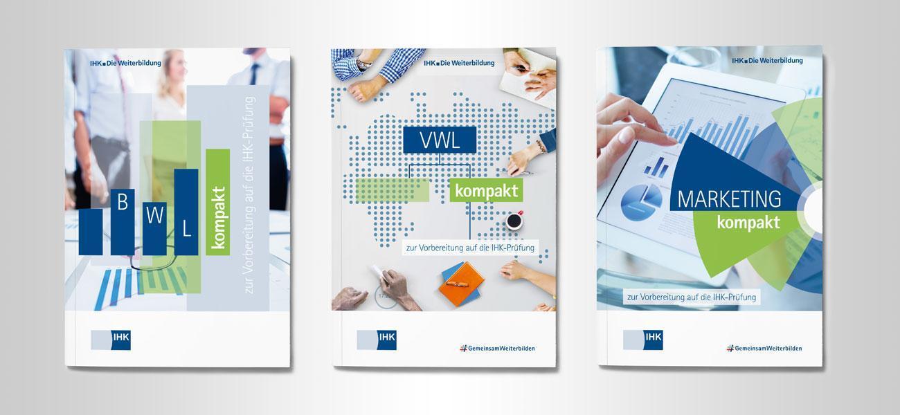 Umschlaggestaltung für IHK Broschürenreihe