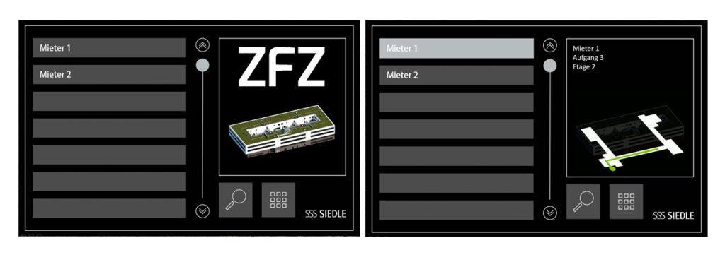 Interface Design für Touchpanel