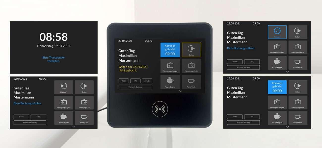 Multiscreen UX Design für CTI Leipzig